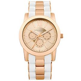 Identity London Rose and White Bracelet Strap Watch