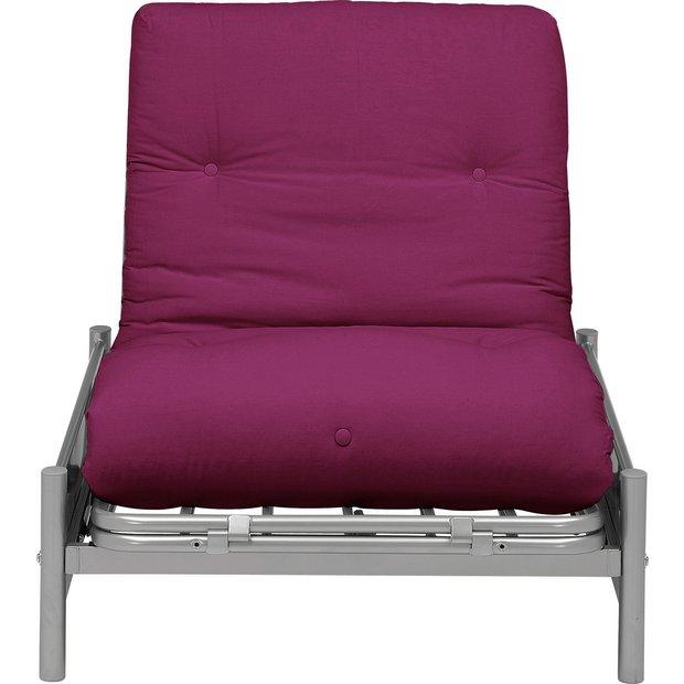 Colourmatch Single Chair Bed Jet Black