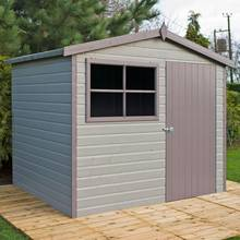 Homewood Wroxham Shiplap Wooden Gable Shed - 10 x 8ft Best Price, Cheapest Prices