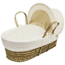 Kinder Valley Cream Dimple Moses Basket