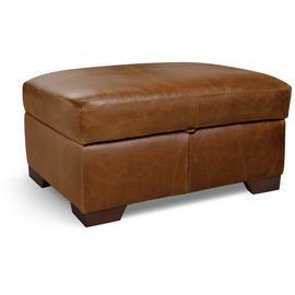 Fine Buy Argos Home Eton Leather Storage Footstool Tan Footstools Argos Machost Co Dining Chair Design Ideas Machostcouk