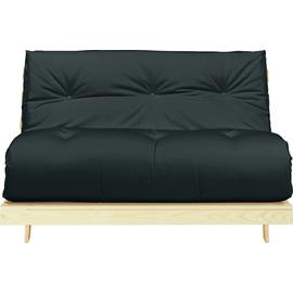 Argos Home Tosa 2 Seater Futon Sofa Bed - Black