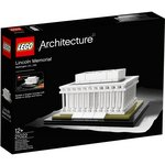 more details on LEGO Architecture Lincoln Memorial - 21022.
