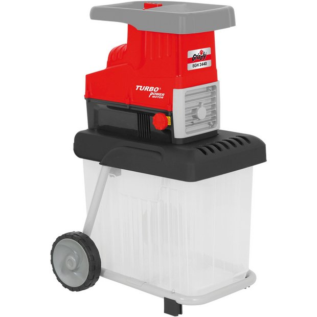 buy grizzly tools 2800w corded electric garden shredder at. Black Bedroom Furniture Sets. Home Design Ideas