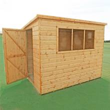 Homewood Caldey Shiplap Wooden Shed - 8 x 6ft
