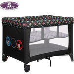 more details on Disney Travel Cot and Bassinette - Mickey Circles.
