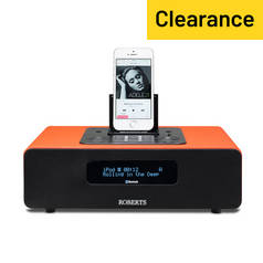 Roberts Radio Blutune65 Bluetooth Sound System - Orange