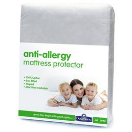 Downland Anti-Allergy Zipped Mattress Protector