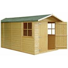 Homewood Jersey Shiplap Wooden Shed - 7 x 13ft