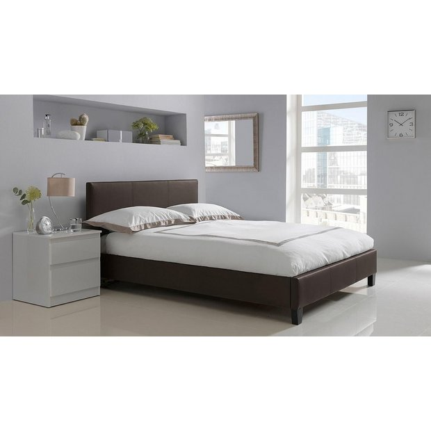 Buy HOME Constance Double Bed Frame