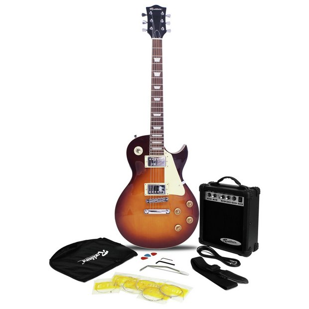 buy rockburn electric guitar amp pack sunburst at your online shop for electric. Black Bedroom Furniture Sets. Home Design Ideas