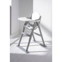 East Coast Nursery Folding Highchair - White and Grey