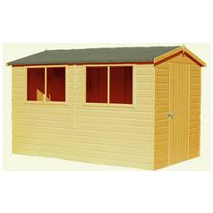 Homewood Lewis Wooden 10 x 8ft Shiplap Shed Best Price, Cheapest Prices