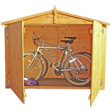Homewood 6 x 2ft Shiplap Apex Bike Store
