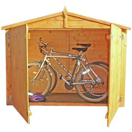 Homewood 6 x 3ft Shiplap Apex Bike Store.