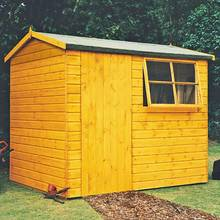 Homewood Suffolk Shiplap Wooden Gable Shed - 10 x 8ft