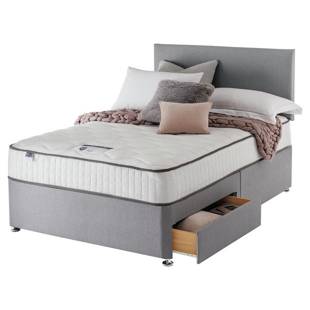 Buy Silentnight Middleton Pocket Memory Double 2 Drw Divan Bed At Your Online Shop