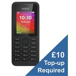 more details on EE Nokia 130 Mobile Phone - Black.