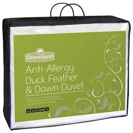Downland 10.5 Tog Duck, Feather and Down Duvet - Double