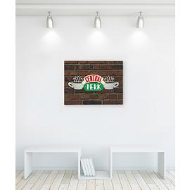Friends Central Perk Brick Canvas