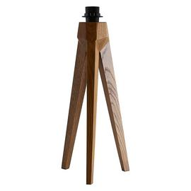 Habitat Tripod Table Lamp - Walnut