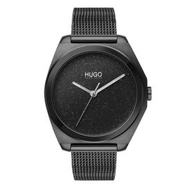 HUGO Ladies Imagine Black Stainless Steel Watch