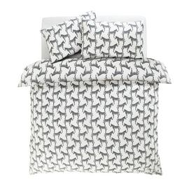 Argos Home Zebra Bedding Set - Double