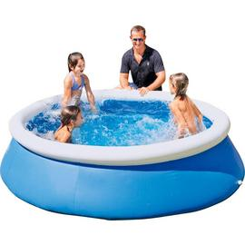 Bestway 8ft Quick Up Round Family Pool - 2300L