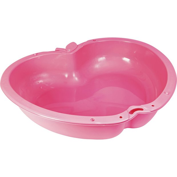 Buy chad valley pink sand and water pit at for Garden pool argos