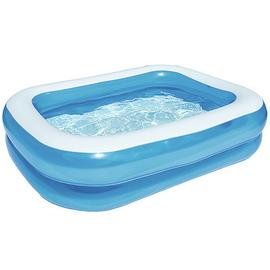 Chad Valley 7ft Rectangular Kids Paddling Pool - 400L