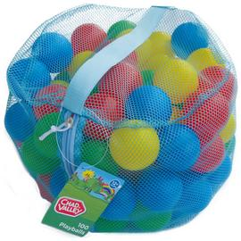 Chad Valley Bag of 100 Multi-Coloured Play Balls