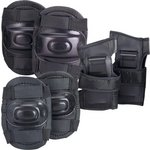 more details on Chad Valley Skate Knee, Elbow and Wrist Pads - Black.