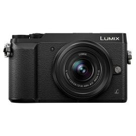 Panasonic Lumix GX80 Mirrorless Camera, 12-32mm Lens - Black