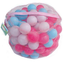 Chad Valley Bag of 100 Pink and Blue Play balls
