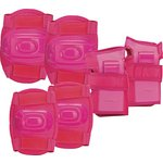 more details on Chad Valley Skate Knee, Elbow and Wrist Pads - Pink.