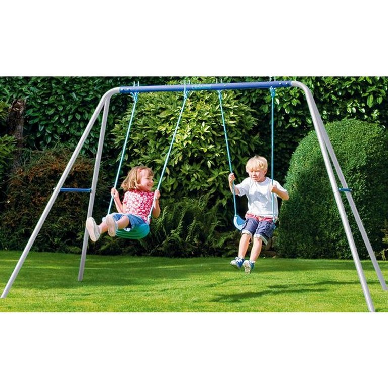 Buy Chad Valley Double Swing Set at Argos.co.uk - Your ...