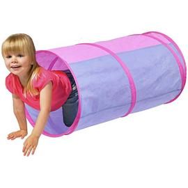 Chad Valley Pink Pop Up Play Tunnel