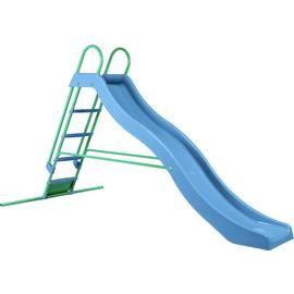Chad Valley 9ft Wavy Slide - Blue