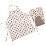 more details on Beau and Elliot Blooming Lovely Apron and Oven Glove Set.
