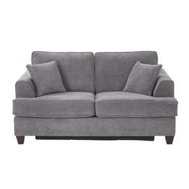 Argos Home Hampstead 2 Seater Fabric Sofa Bed - Pewter