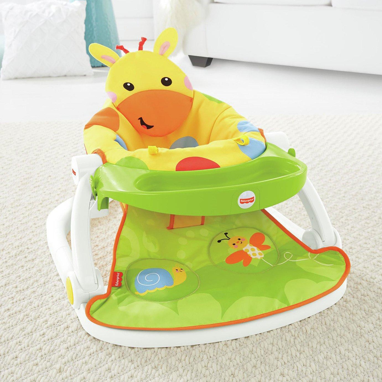 Buy Fisher Price Giraffe Sit Me Up Feeding Booster Seat Baby Seat