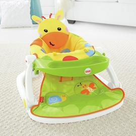Fisher Price Giraffe Sit-Me-Up Feeding Booster Seat