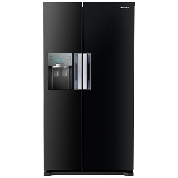 buy samsung rs7667fhcbc american fridge freezer black at. Black Bedroom Furniture Sets. Home Design Ideas