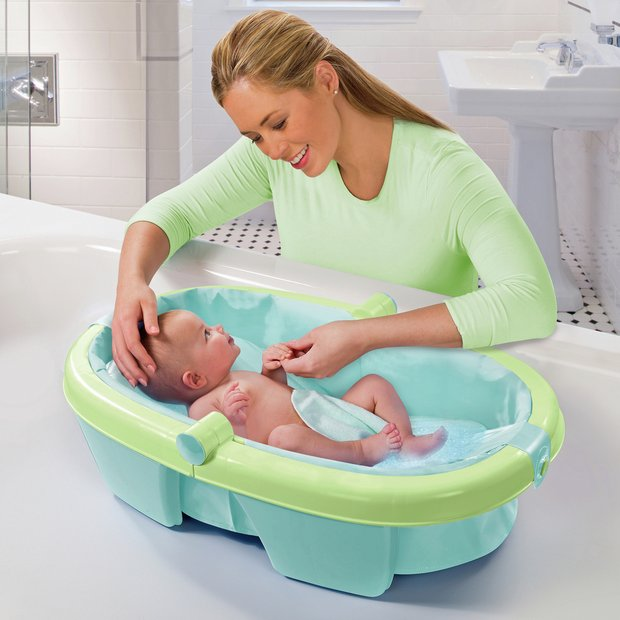 buy summer infant newborn to toddler fold away baby bath at your online shop for. Black Bedroom Furniture Sets. Home Design Ideas