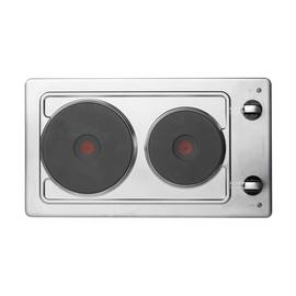 Hotpoint E320SKIX Solid Plate Electric Hob - Stainless Steel