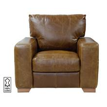 Heart of House Eton Leather Armchair - Tan