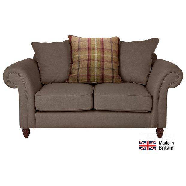 Buy Heart Of House Windsor 2 Seater Fabric Sofa Mink