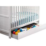 more details on Saplings Underbed Rollerdrawer - White.