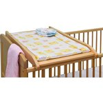 more details on Saplings Cot Top Changer - Natural.