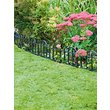 more details on Traditional Plastic Decorative Fencing - Pack of 8.